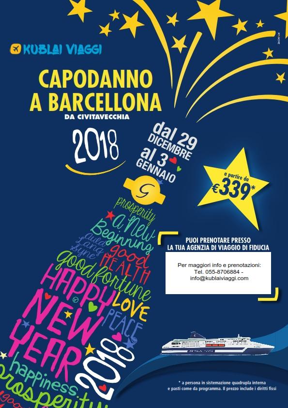 Capodanno a barcellona a 339 euro kublai viaggi for Capodanno a barcellona